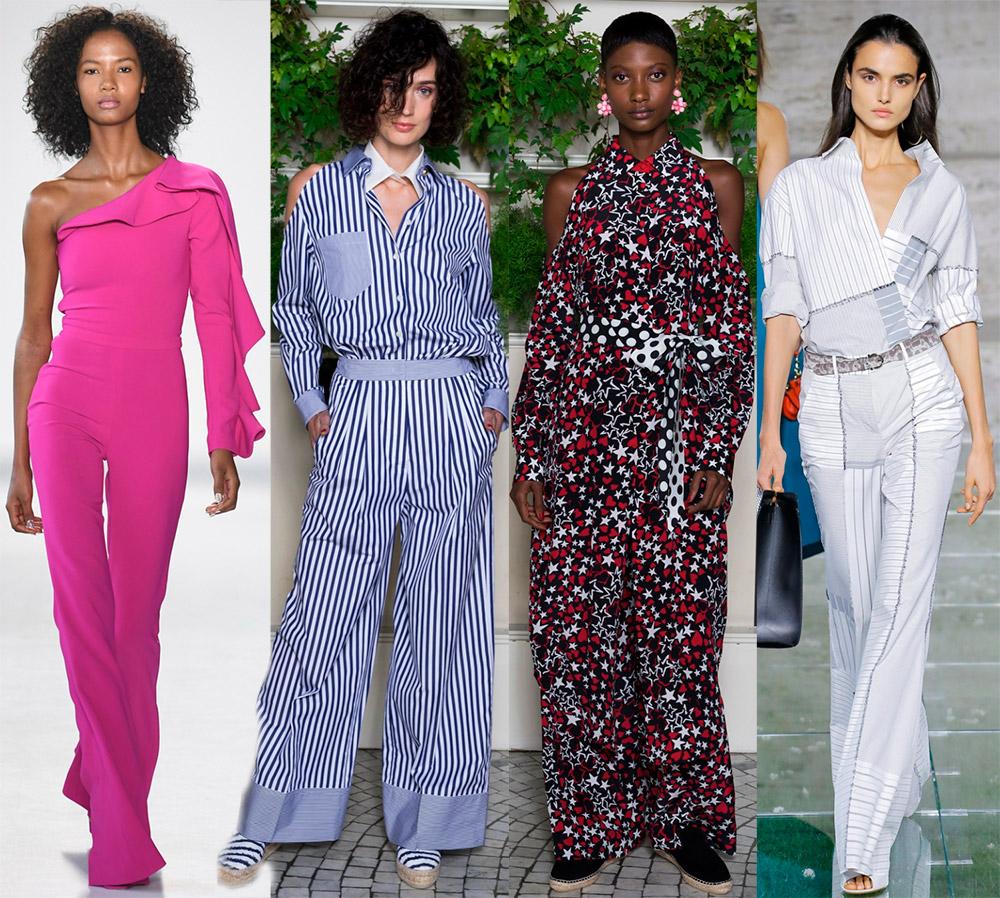 Женские комбинезоны 2018 — обзор модных коллекций
