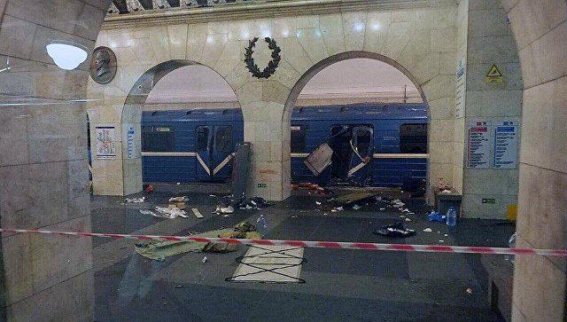 Петербурженка рассказала о первых минутах после взрывов в метро