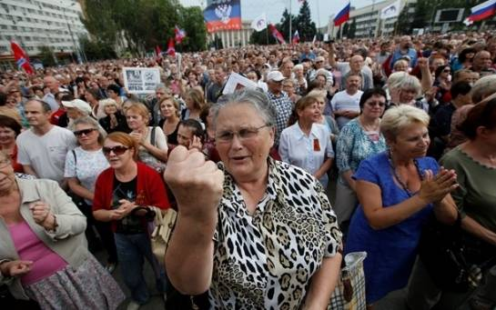 Бунт жителей в захваченных ВСУ поселках: от кого вы нас освободили?