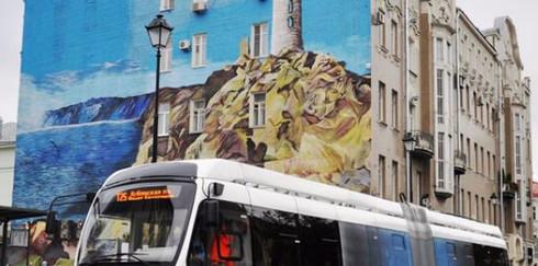 Первый электробус вышел на маршрут в Москве