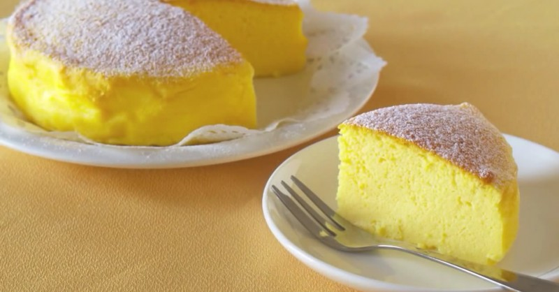 В Японии придумали рецепт торта. Там только 3 ингредиента! Удивлены?