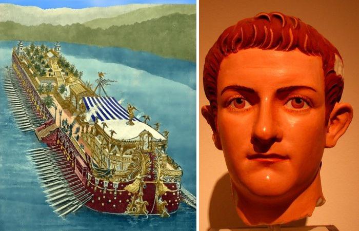«Корабль для удовольствий»: как развлекался император Калигула