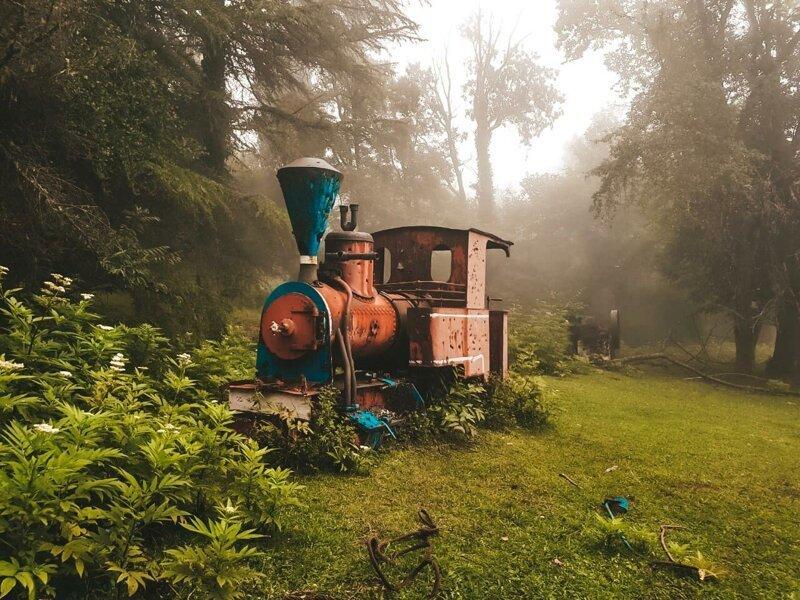 История маленького паровозика. Абхазия