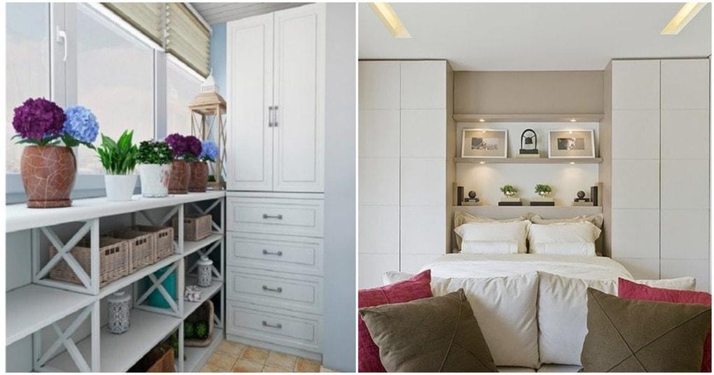 Удачные идеи, как найти правильное место для шкафа