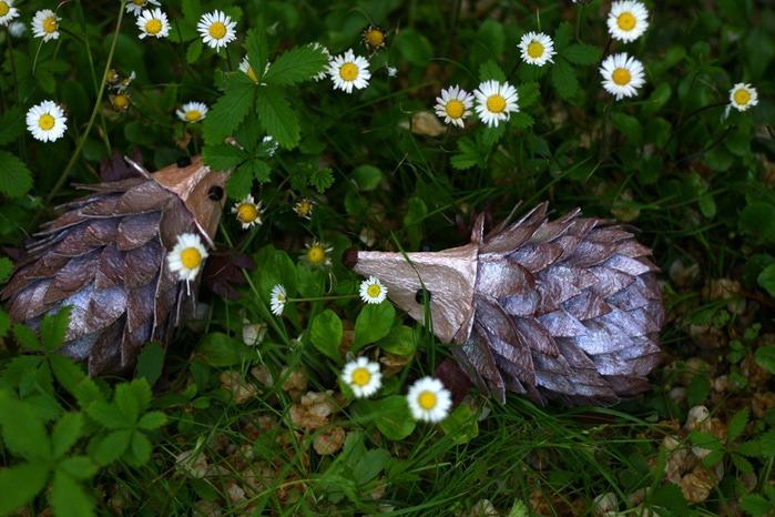 Очаровательные ежики из яичных лотков! (мастер-класс)
