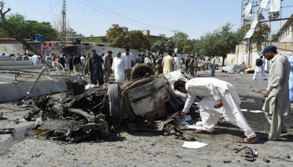 Врезультате взрыва около офиса полиции вПакистане погибли 12 человек