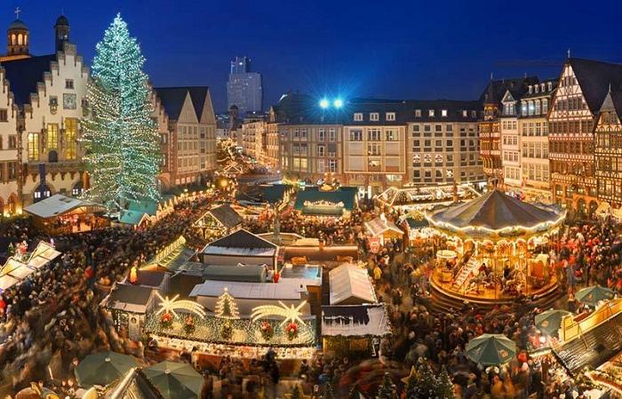 Рождественский базар в Ротенбурге