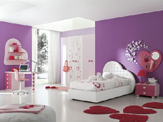 Как обустроить детскую комнату. Дизайн комнаты для девочек.
