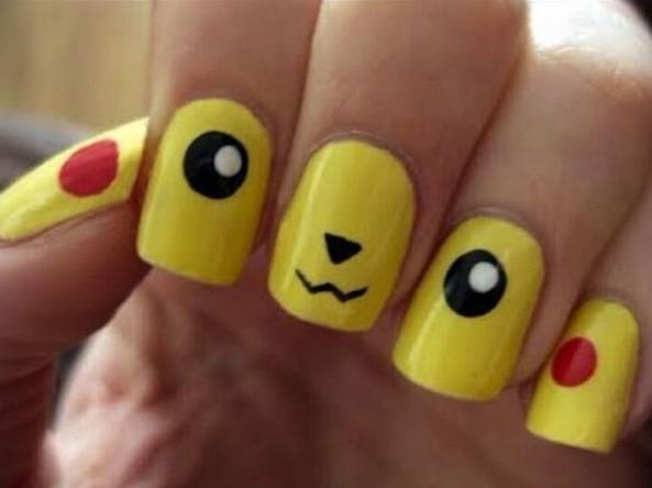 Мода на покемонов распространилась и на ногти