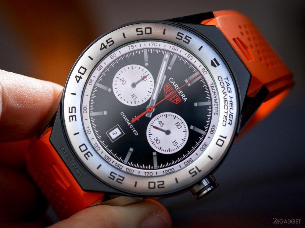 Модульные смарт-часы Tag Heuer Connected Modular 45 (27 фото + 2 видео)