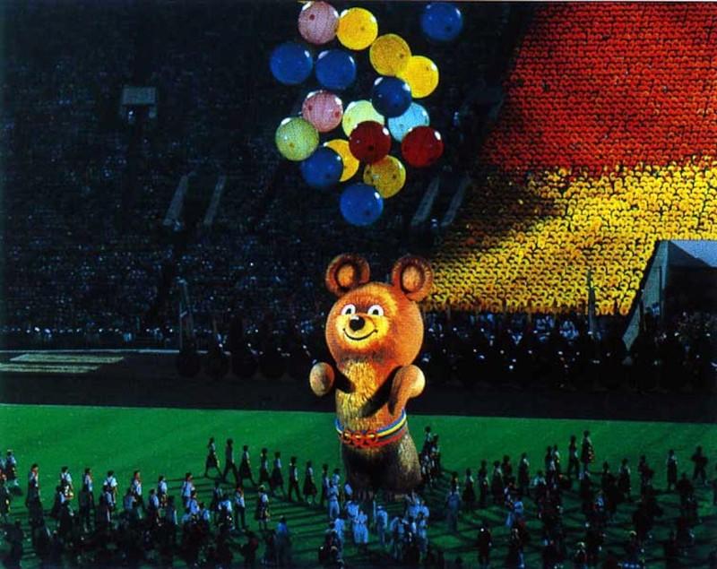 Куда улетел Олимпийский Мишка в 1980 году? (7 фото)