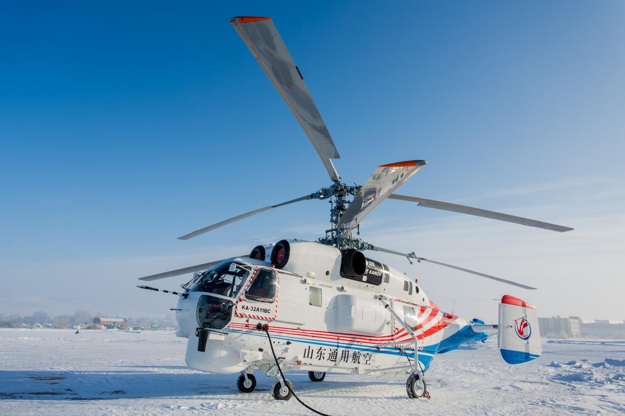 В Китай поставлены очередные два вертолета Ка-32А11ВС