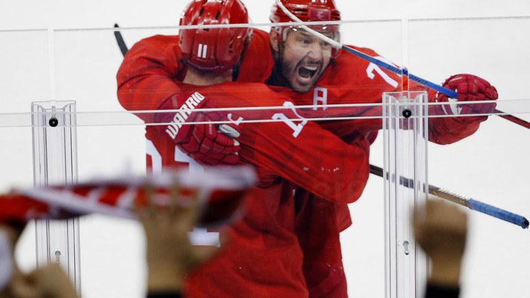 USA Today: российские хоккеисты всухую обыграли американцев на Олимпиаде