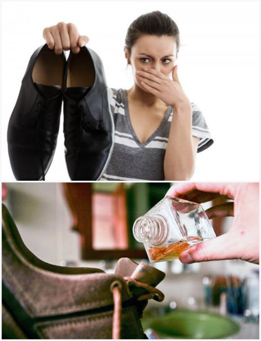 Как быстро устранить запах в обуви в домашних условиях быстро