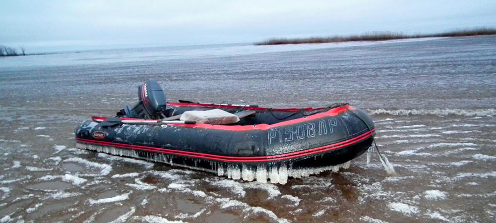 лодки пвх при минусовых температурах работы