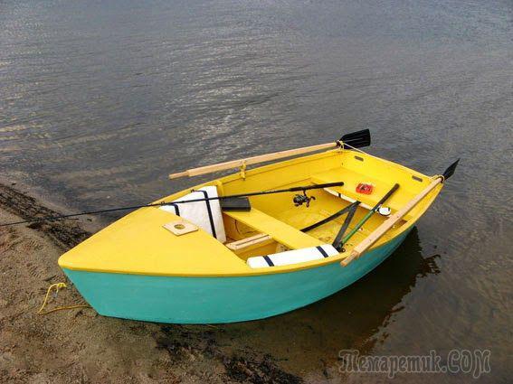 как сделать фанерную лодку