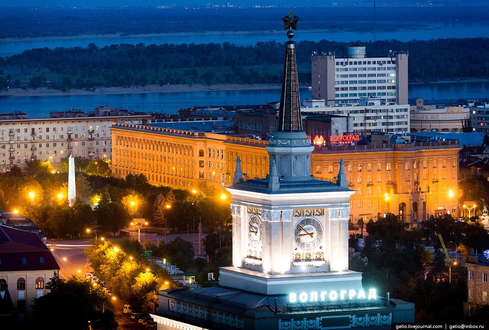 Железнодорожный вокзал Волгограда