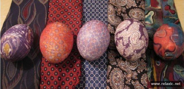 Как легко и оригинально покрасить яйца на Пасху