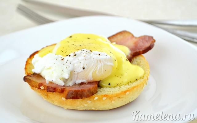 Как сделать яйца бенедикт