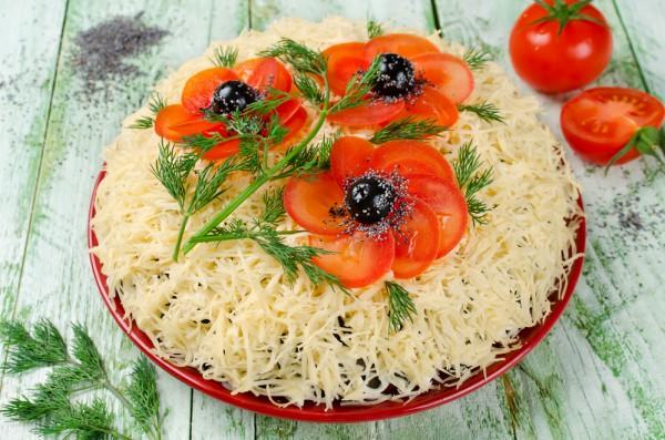 Салат Маки: рецепт с фото
