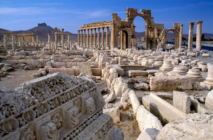 Помощь России в Сирии: специалисты РФ подготовили 3D-модель реставрации Пальмиры