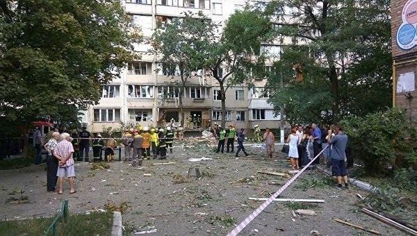 Киев: Взрыв вжилом доме— погибла женщина