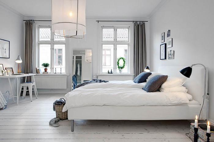 как расположить кровать в спальне по фен шуй