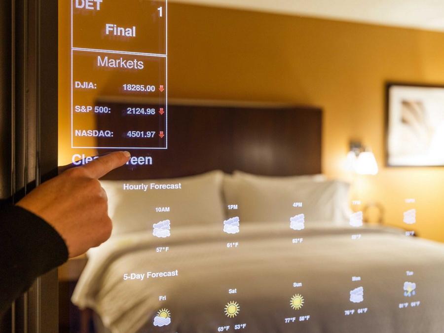 12 самых высокотехнологичных отелей в мире