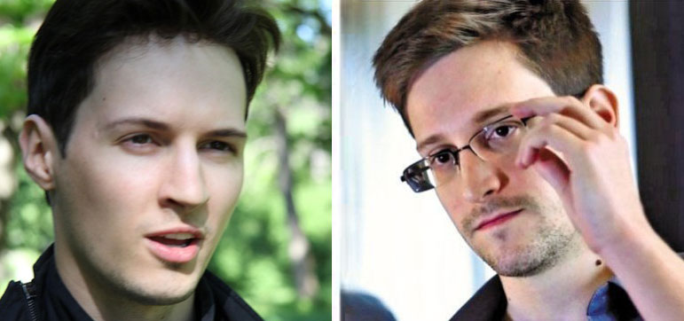Сноуден и Дуров поспорили о …