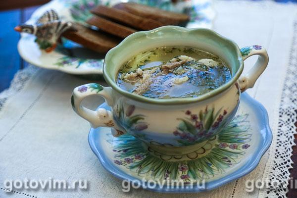 Суп бухлер (бурятский суп)