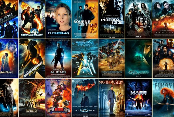 Существует только 13 типов постеров современных фильмов и вот они