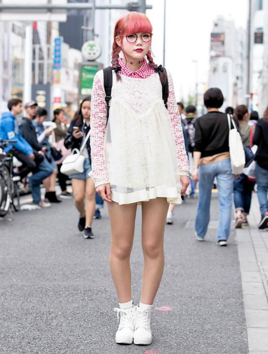 Уличная мода Японии.