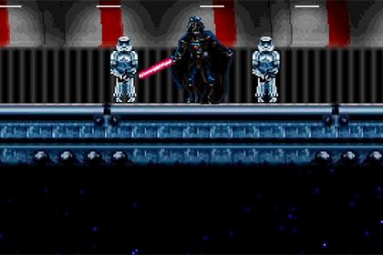 Финальную сцену спин-оффа «Звездных войн» стилизовали под ретроигру