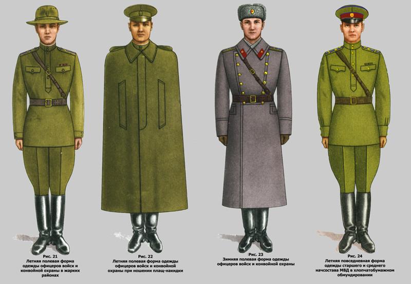 Летняя Форма Одежды Военнослужащих
