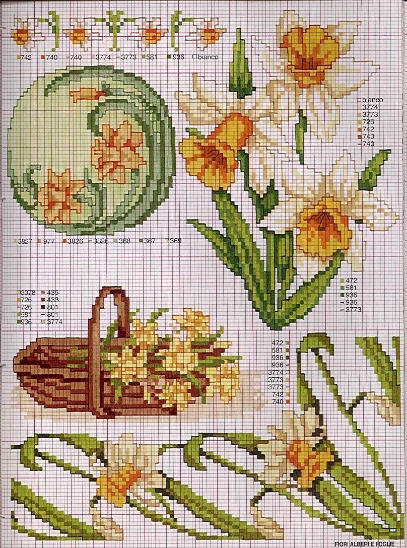 Схема вышивки крестом лотос бесплатно
