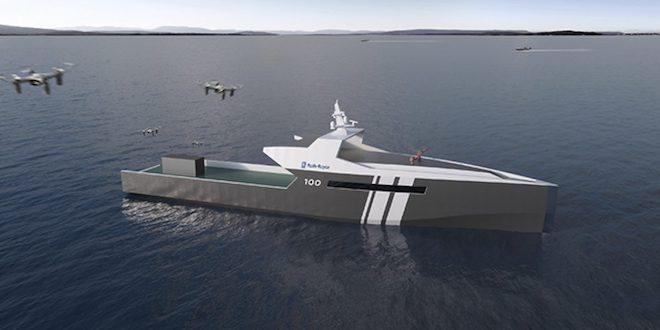 Rolls-Royce выпустят военный беспилотный катер