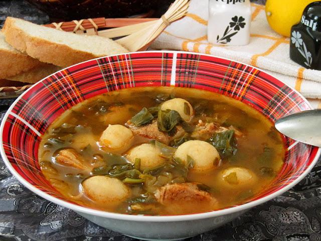Флол — армянский суп с галушками