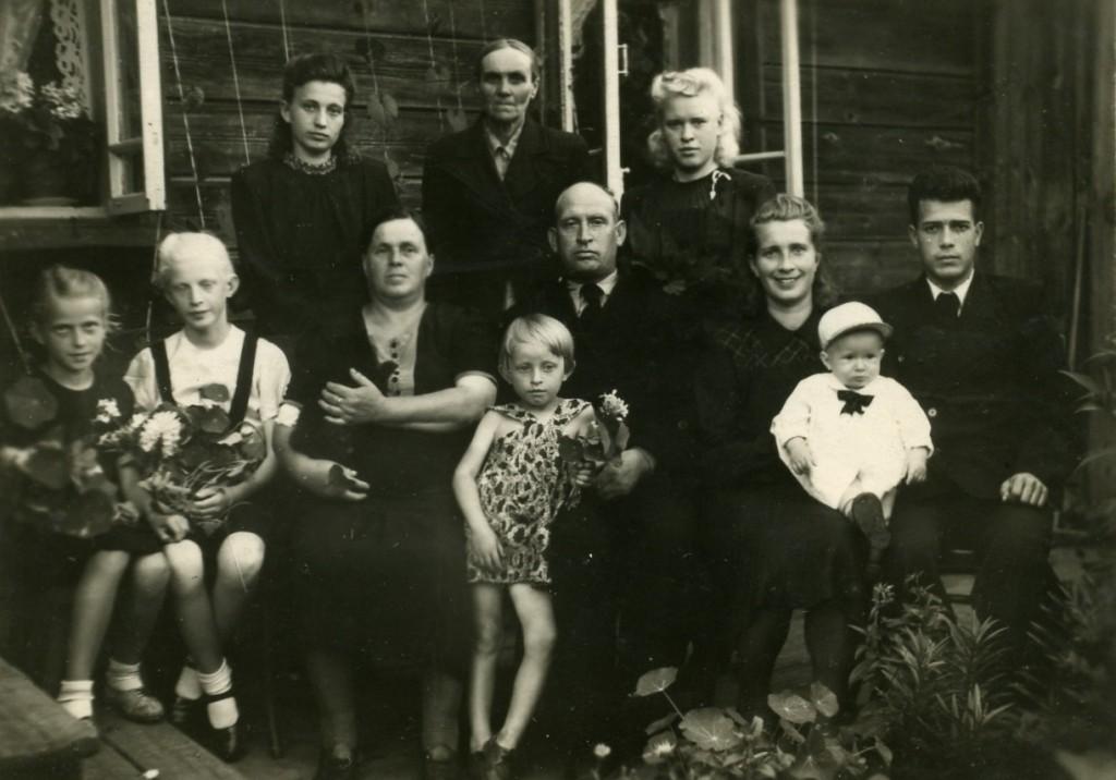 Семья директора Синицына П.К.