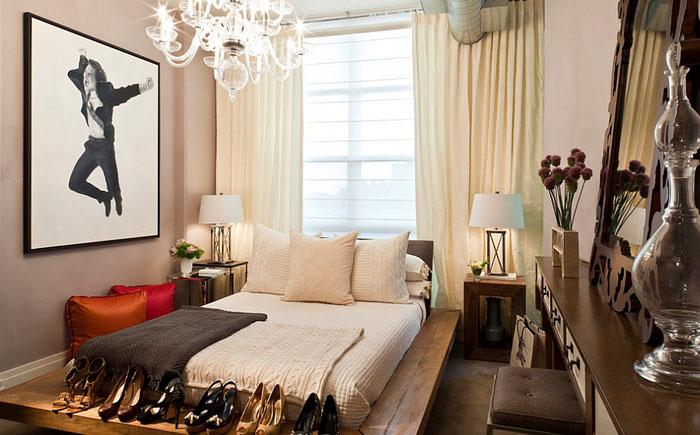 Спальня в богемском стиле