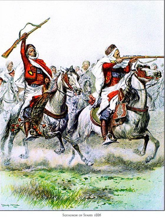 Французская кавалерия на Вос…