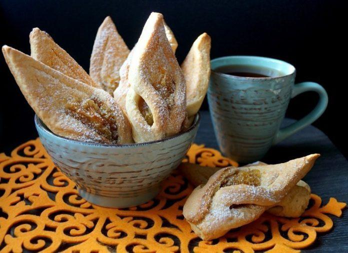 Ароматное хрустящее яблочное печенье. Вкуснее не бывает!