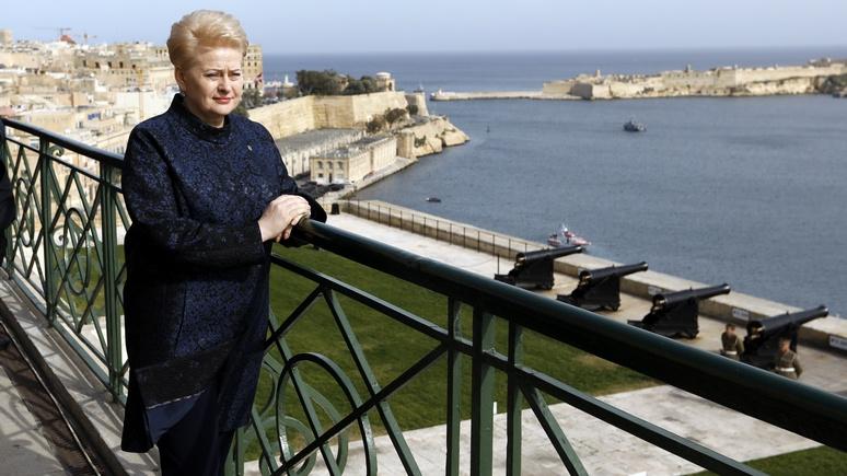 FP: президент Литвы не опасается «зелёных человечков» — языковой барьер защитит