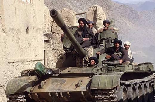 Спецназ США и агенты ЦРУ воевали в Афганистане против Т-72?