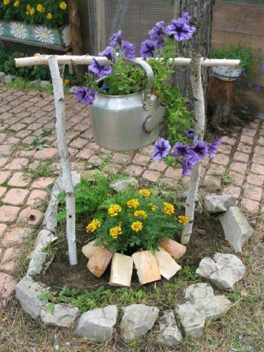 Как сделать украшения для сада сделать своими руками