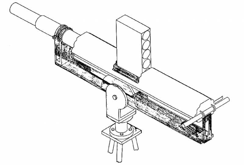 Проект 70-мм автоматического гранатомёта от NOS Louisville (США)