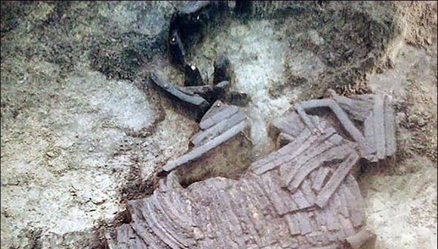 Броня из костей обнаружена на берегу Иртыша_4