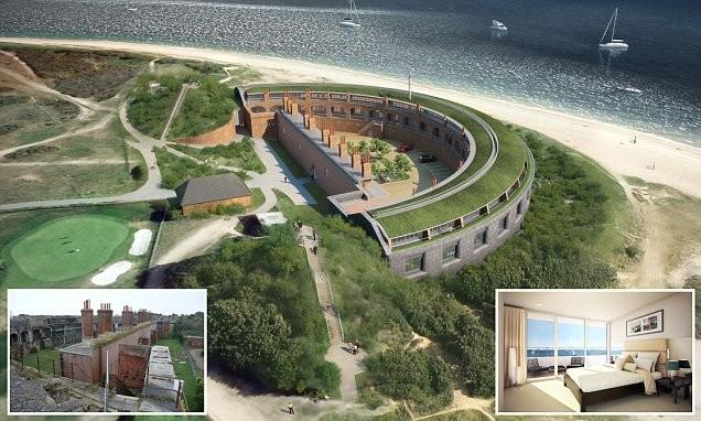 Форт викторианской эпохи превратится в жилье класса люкс