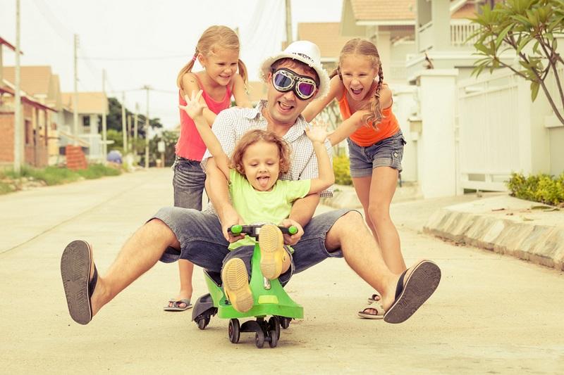 воспитание ребенка отцом
