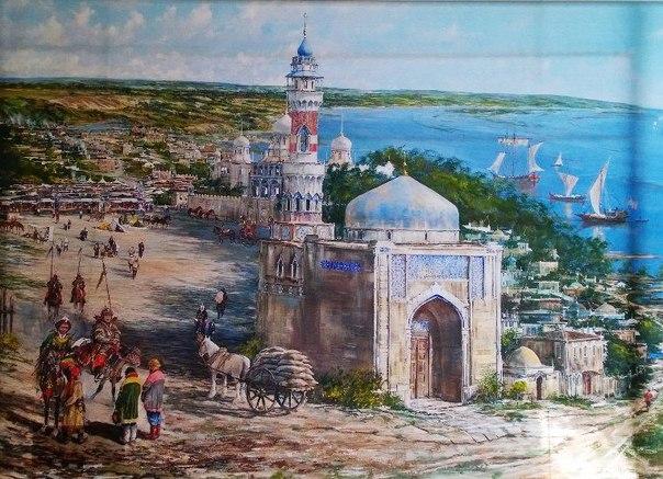 Золотоордынские города Нижнего Поволжья
