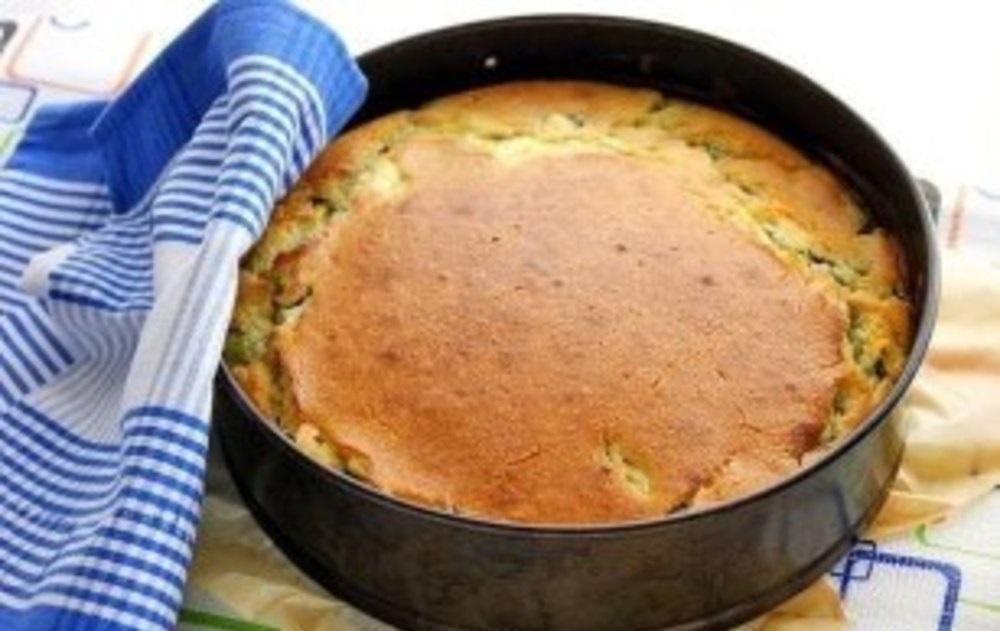 яичный пирог с луком рецепт с фото